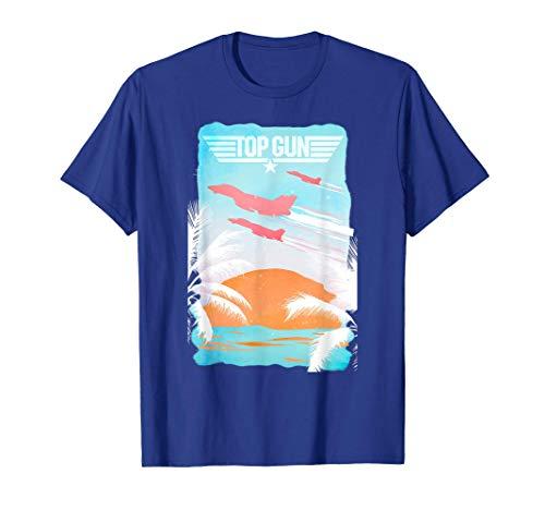 Top Gun Baja Sunset T-Shirt, choice of colors, adults, kids, S to 3XL