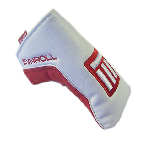 Evnroll New Red/White Magnetic Blade Putter Headcover