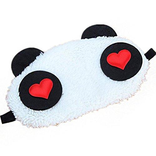 vreplrse 1x Bella del Fronte del Panda di Viaggio degli Occhi di Sonno Blindfold Carino Regalo di Natale