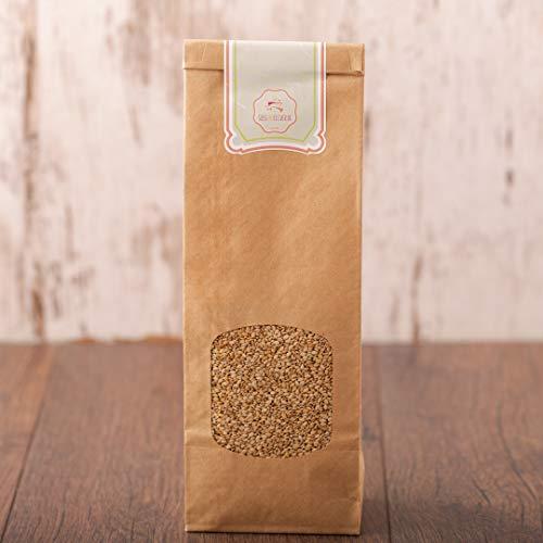 süssundclever.de® | Bio Sesam | ungeschält | 1 kg | plastikfrei und ökologisch-nachhaltig abgepackt
