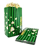 Snappy Popcorn Flat Bottom Theater Popcorn Bags, 130 Ounce, 500 Count