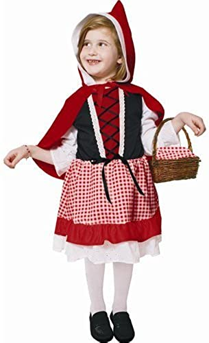 Lil' rot Riding Hood - Small 4-6 by Dress Up America