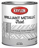 Krylon K02226000-14 Brilliant Metallic Quart, 32 Fl Oz (Pack of 1),...