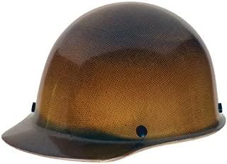 brown safety helmet