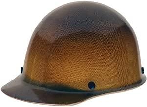 MSA 475395 Skullgard Protective Hard Hat Front Brim, Fas-Trac III Suspension, Standard Size, Natural Tan