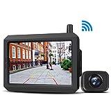 BOSCAM K7 Digital Wireless Backup Camera Kit, 5 Inch TFT-LCD Big Screen