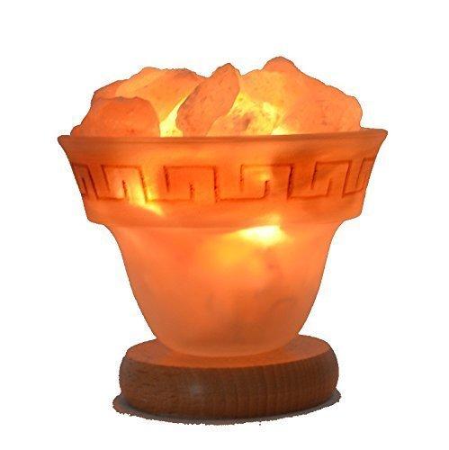 Salzkristall-Lampe Leuchtschale - Feuer des Olymp Gr. S