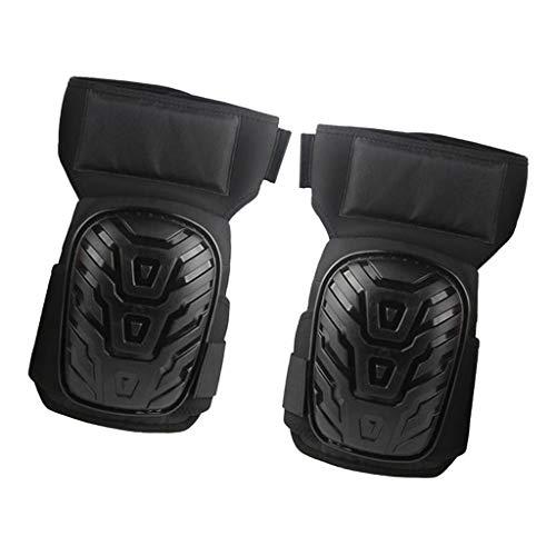 B Blesiya Herren Premium Knieschoner Kniebandage bequemem für Profi Handwerker und Heimwerker