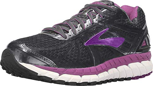 Brooks Womens Ariel 16 Anthracite/Purple Cactus Flower/Primer Grey 8.5 D US