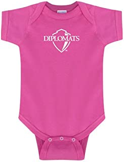 Franklin & Marshall Fuchsia Infant Onesie 'Diplomats Official Logo'