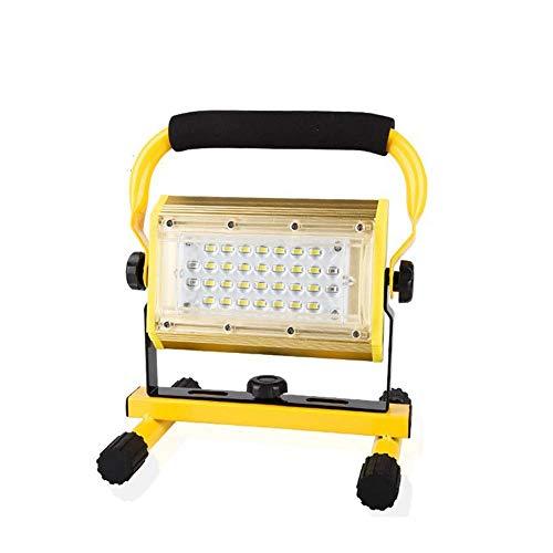 SYLOZ-URG 80W LED Recargable Luces de Trabajo Luces de Emergencia Luces de inundación portátil Verticales al Aire Libre Luces de Trabajo, 3 Modo Brillo URG