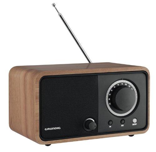 GRUNDING GRR2740 TR 1200 Glossy Oak Rádio sobremesa Color marrón