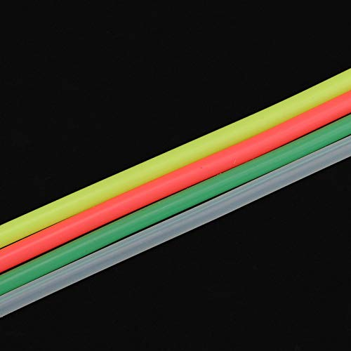 Jazar Tubo de línea de Combustible de Silicona 1:10, Tubo de línea de Combustible Resistente a la corrosión Gruesa, para Juguete RC Modelo RC Coche de Gasolina RC Coche RC