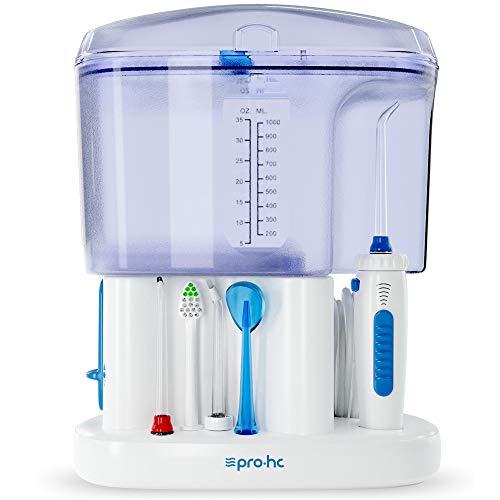 Irrigador dental + Boquillas de recambio extras
