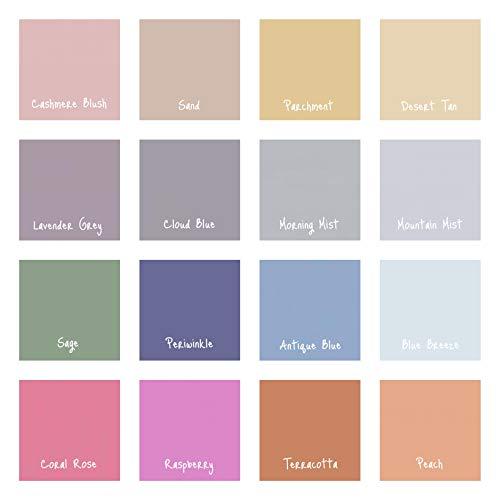 InsideMyNest Hojas de papel de seda de colores vintage de calidad premium (75 x 50 cm) (azul nube, 20)