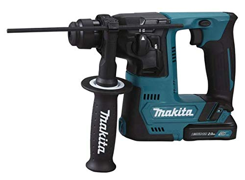 Makita 1 taladro 10,8 V 2 x 2 Ah – 14 mm – SDS Plus compatible – 2 FUNZ. -1J, 10,8 V.