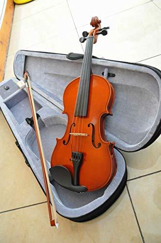 BASDW estudiantes de violín de madera contrachapada de piano for practicar las ventas de instrumentos profesionales BASDW (Color : Brown-4/4)