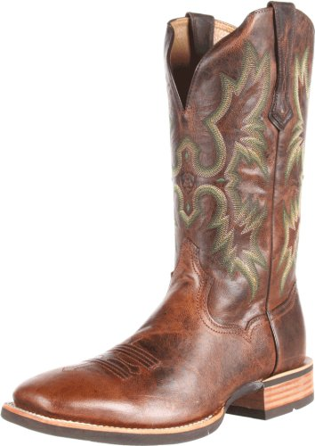Ariat Men's Tombstone Western Cowboy Boot, Weathered Chestnut, 11 M US