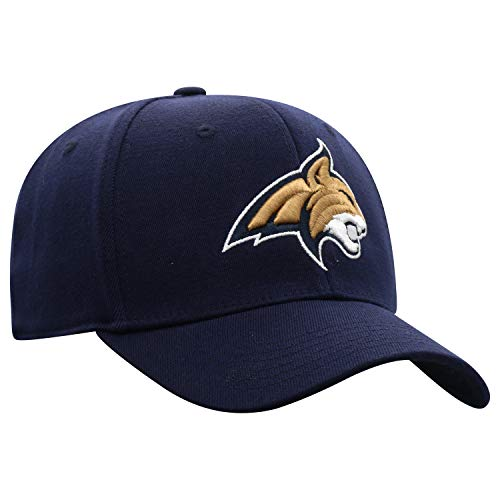 Top of the World Montana State Bobcats Men's Premium Collection One-Fit Memory Fit Hat Team Color Icon, One Fit