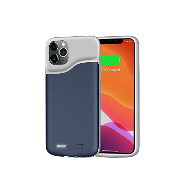 Battery Case For Iphone 11 Pro 6000mah Juboty Battery Charging Case Portable Rechargeable Extended Battery Pack Slim External Battery Protective Charger Case Compatible With Iphone 11 Pro58 Inch