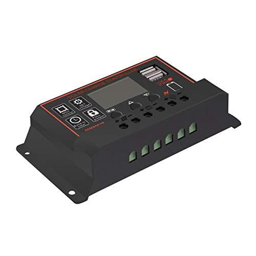 Tree-on-Life 10/20/30/40/50 / 60A Ampere 12V / 24V Solarpanel-Laderegler Batterieregler Dual USB