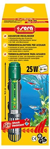 Sera 8700 Normalmente Calefactor 25 W (para 25 L) Cristal de Cuarzo, precisión...