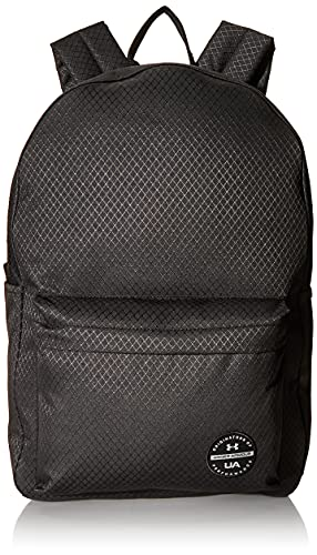 Under Armour Adult Loudon Ripstop Backpack , Black (001)/Black , One Size Fits All