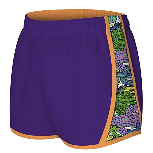 NEWISTAR Pantaloncini Donna Larghi Pantaloncini Corti da Spiaggia Quick Dry Classico Shorts Donna Vacanza Ciclismo Boxe