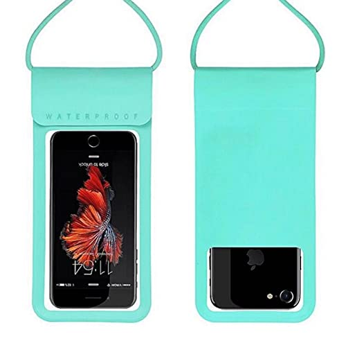 Impermeable pantalla táctil teléfono móvil secado buceo bolsa de teléfono móvil