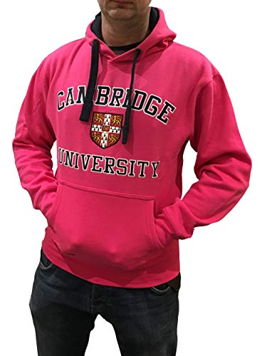 Cambridge University Hoodie Official Licence Quality Printed Pullover Sweatshirt