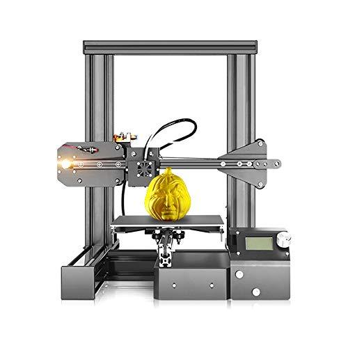 L.J.JZDY Imprimante 3D Machine 3D Imprimante FDM Bureau 3D Moon Lampes Construire DIY Maison D'imprimerie 3D Auto-Assemblage Maker