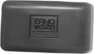 Erno Laszlo Dead Sea Mud & Charcoal Deep Cleansing Bar, 3.4 oz | Paraben-Free Face Soap for Acne, Oily, Combination Skin | Pore Minimizer, Exfoliating, Detoxifying