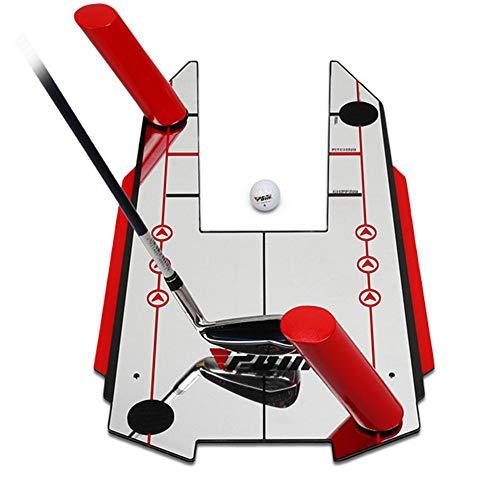 Premium-Golf Putting Spiegel   in einer tragbaren Golf All Ihre Ausrichtung zu verbessern, Setup-Position Des Putter Gesicht Winkel bei Impact Putting Startlinie und die Golf Swing Pfadrichtung