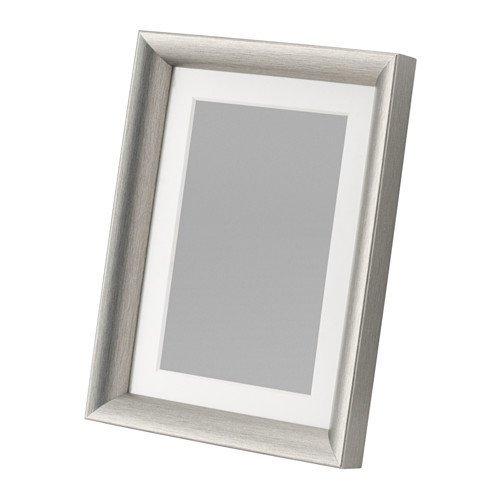 IKEA イケア SILVERHOJDEN フレーム シルバーカラー 13×18 cm 702.974.32 70297432
