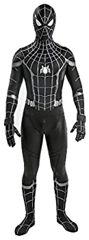 Halloween Boys Homecoming Spider Costume Cosplay Black Toddler Suit Zentai Onesie Outfit for Kids 4-6