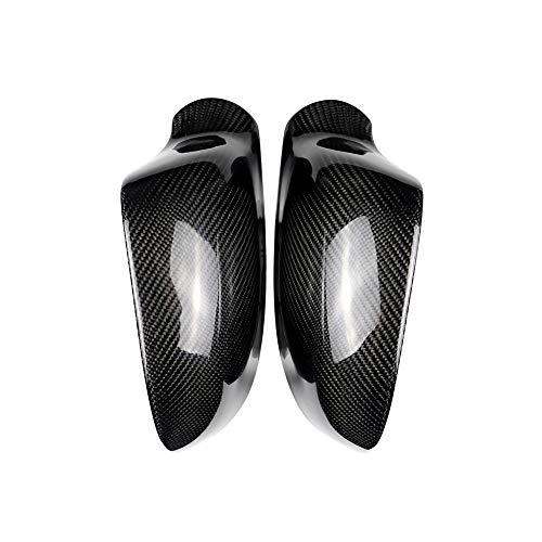 DSEB Cubiertas de Espejo, para Audi A3 A4 A5 B7 A6 C7 05-12 Cordillas de ala de ala de Lateral de Carbono Ajuste de decoración de reemplazo