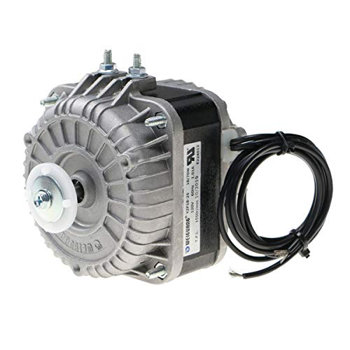 Shaded Pole Motor 120V 60Hz 1.01A 18W AC Fan Motor for Small Ventilation Equipment,Refrigeration Equipment Radiator Evaporator (YZF18-25)