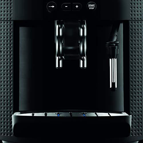 KRUPS ESSENTIAL NOIRE Machine à café à grain Machine à café broyeur grain Cafetière expresso...