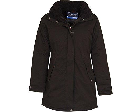 Bergson Damen Outdoor Wintermantel MINA, Black [900], 50 - Damen