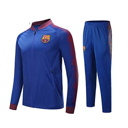 Barcelona Club shirt met lange mouwen voetbal pak pak team spelen competitie trainingspak