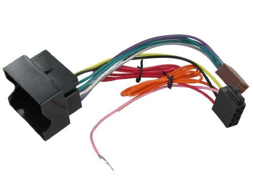 Connects 2 CT20VX01 ISO-Adapterkabel (für Autoradios, für Vauxhall/ Opel Astra/ Vectra C/ Corsa)