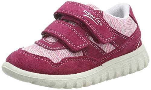 Superfit Baby Mädchen SPORT7 Mini Sneaker, Rot (Rot/Rosa 50), 29 EU