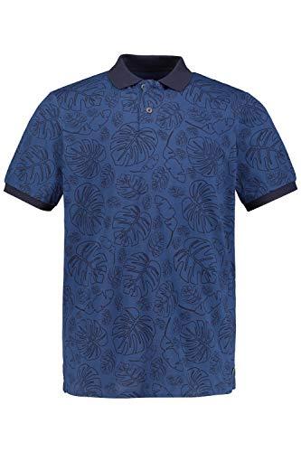 JP 1880 Herren große Größen Übergrößen Menswear L-8XL Poloshirt Nachtblau 4XL 748417 78-4XL