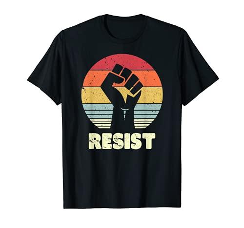 Resist Shirt. Retro, Feminist T Shirt, 70's Vintage Tee