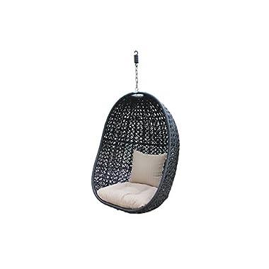 Harmonia Living HL-NMBS-CB-BSKT-ST Nimbus Hanging Wicker Basket