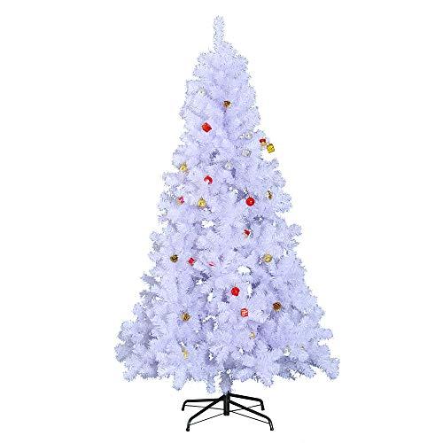 HOMCOM Árbol de Navidad 180cm Artificial Pino con Adornos D