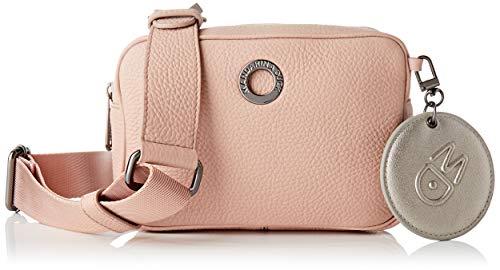 Mandarina Duck Mellow Leather, Bolso de mano para Mujer, Rose Dawn, Taglia...