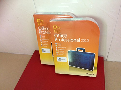 MS Office 2010 Pro 32bit 64bit DVD (EN)