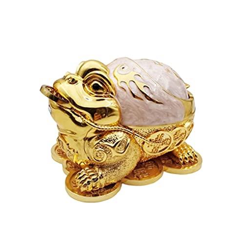 XXSW Money Toad Cenicieta,cenicero a Prueba de Viento con Tapa de Ceniza clásica,cenicero de cigarros al Aire Libre,ceniceros for el hogar,decoración al Aire Libre Interior (Color : B)