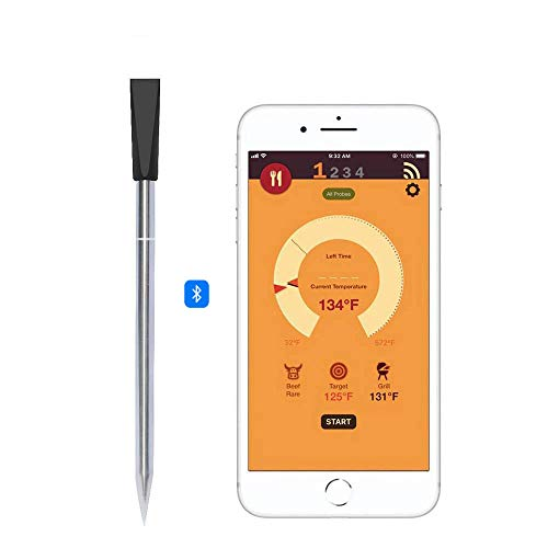 ZHB Telefono App Smart Remote Cottura Digitale Wireless Bluetooth Termometri per Carne per Cucinare...